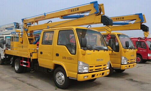 五十铃高空作业车(14―16米)