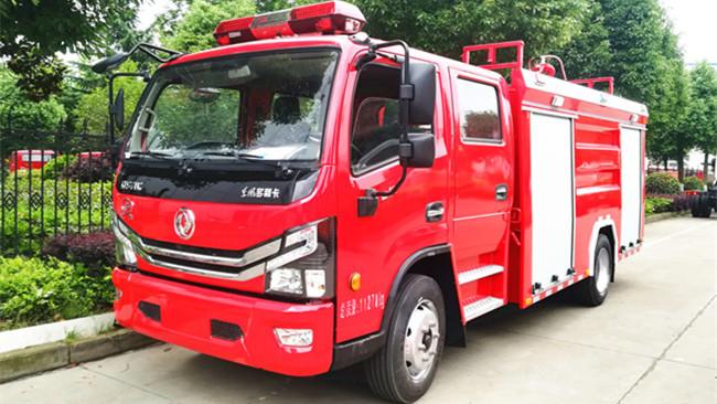 东风多利卡消防车( 5 吨水)